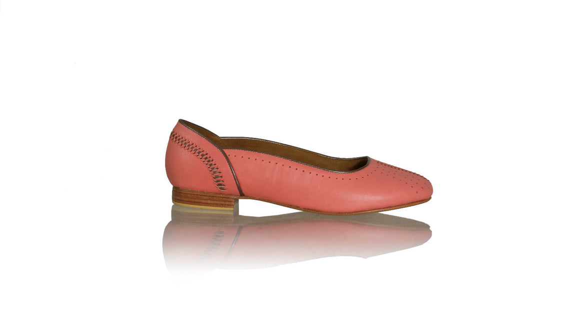 Leather-shoes-Donna Closed toe 20mm Ballet - Soft Pink & Bronze-flats ballet-NILUH DJELANTIK-NILUH DJELANTIK