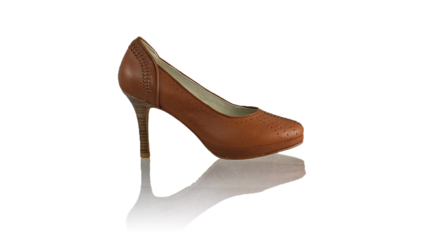 Leather-shoes-Donna 90mm PF - All Brown-pumps highheel-NILUH DJELANTIK-NILUH DJELANTIK