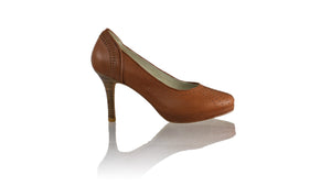 Leather-shoes-Donna Closedtoe PF 90mm - All Brown-pumps highheel-NILUH DJELANTIK-NILUH DJELANTIK