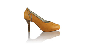 Leather-shoes-Donna Closedtoe PF 90mm - Tan & Bronze-pumps highheel-NILUH DJELANTIK-NILUH DJELANTIK