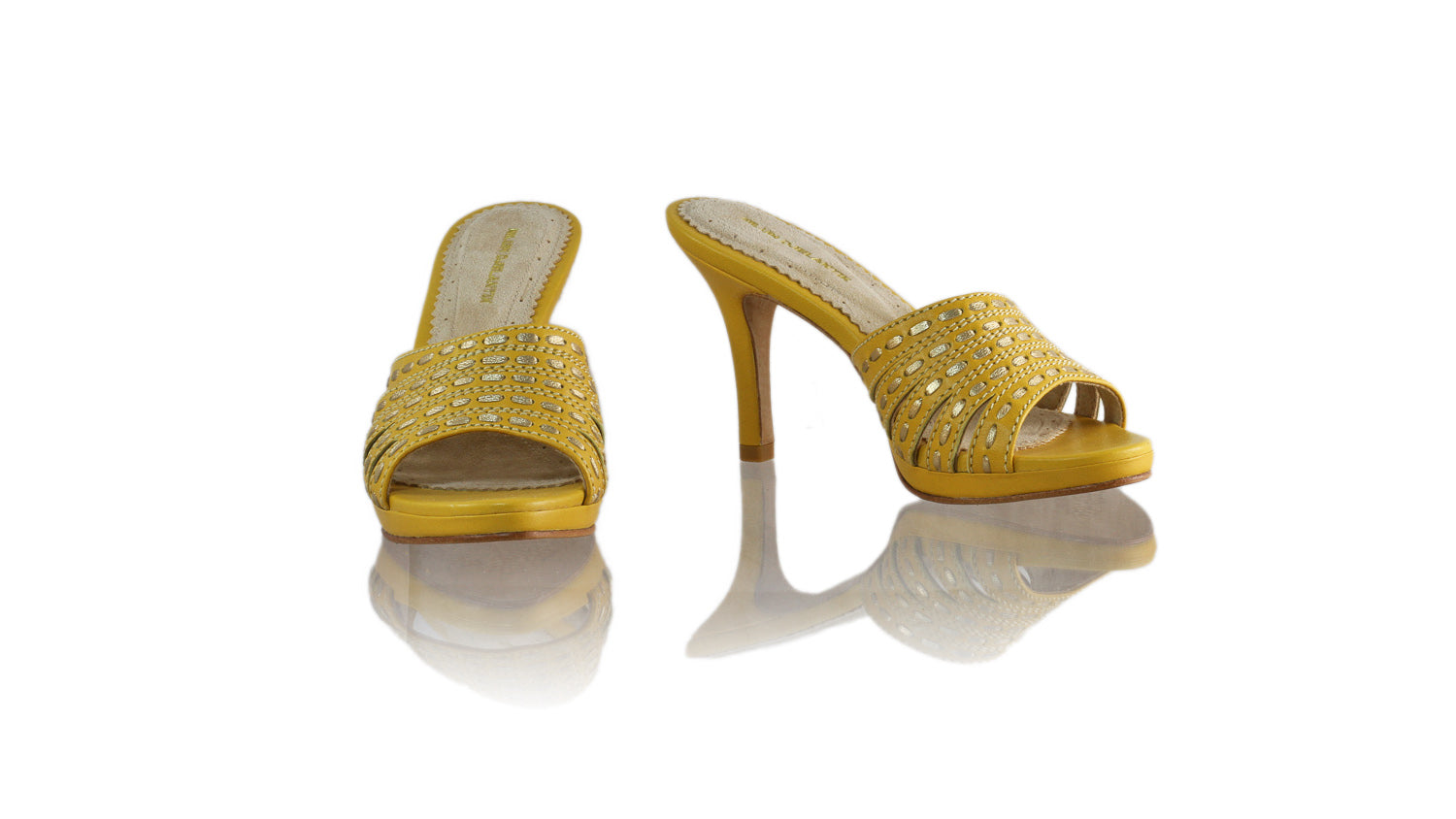 Leather-shoes-Evita 90MM SH-01 PF - Yellow & Gold-sandals higheel-NILUH DJELANTIK-NILUH DJELANTIK