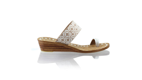 Leather-shoes-Arini 35mm Wedge - Mocca Batik Motif Kawung-sandals wedges-NILUH DJELANTIK-NILUH DJELANTIK