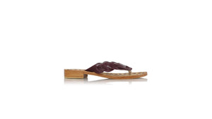 Leather-shoes-Jhonny Thong 20mm - Deep Purple-sandals flat-NILUH DJELANTIK-NILUH DJELANTIK