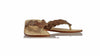 leather shoes Jhonny Thong 25 mm Flats - Dark Brown (MEN), sandals flat , NILUH DJELANTIK - 1