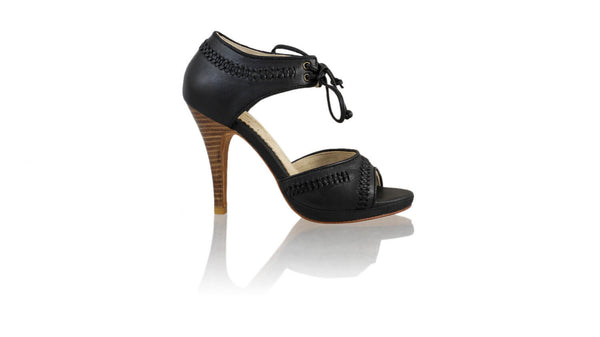 Leather-shoes-Karli 115mm SH PF - Black-sandals higheel-NILUH DJELANTIK-NILUH DJELANTIK