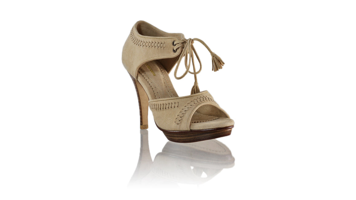 Leather-shoes-Karli SH PF 115mm - Nude Suede-sandals higheel-NILUH DJELANTIK-NILUH DJELANTIK