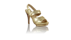 Leather-shoes-Kartika 115mm SH PF- Gold-sandals higheel-NILUH DJELANTIK-NILUH DJELANTIK