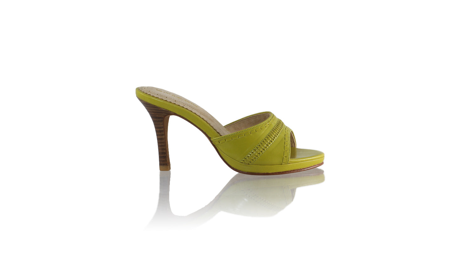 Leather-shoes-Kartini 90MM SH PF - Deep Lime Green-sandals flat-NILUH DJELANTIK-NILUH DJELANTIK