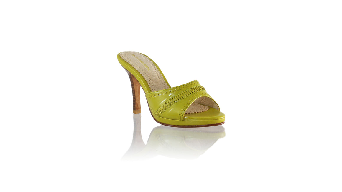 Leather-shoes-Kartini SH PF 90mm - Deep Lime Green-sandals flat-NILUH DJELANTIK-NILUH DJELANTIK