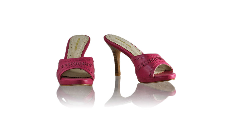 Leather-shoes-Kartini 90mm SH PF - Fuschia-sandals flat-NILUH DJELANTIK-NILUH DJELANTIK