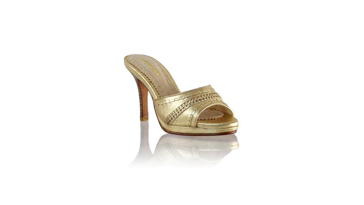 Leather-shoes-Kartini SH PF 90mm - Gold-sandals flat-NILUH DJELANTIK-NILUH DJELANTIK