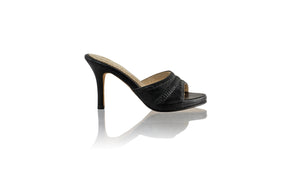Leather-shoes-Kartini SH PF 90mm - Black-sandals flat-NILUH DJELANTIK-NILUH DJELANTIK