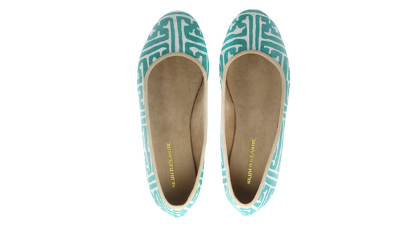 Leather-shoes-Kate 20mm Ballet - Tosca Batik Motif Labyrinth-flats ballet-NILUH DJELANTIK-NILUH DJELANTIK