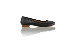 Leather-shoes-Kate 20mm Ballet - Black Net-flats ballet-NILUH DJELANTIK-NILUH DJELANTIK