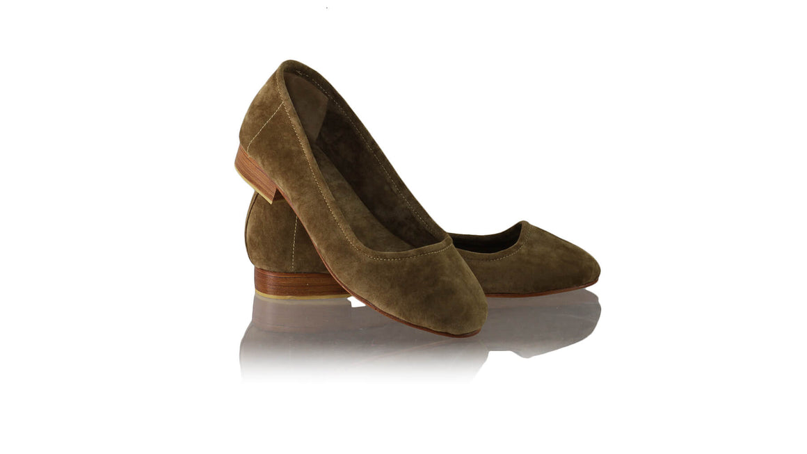 Leather-shoes-Kate Ballet 20mm - Mocca Microsuede-flats ballet-NILUH DJELANTIK-NILUH DJELANTIK