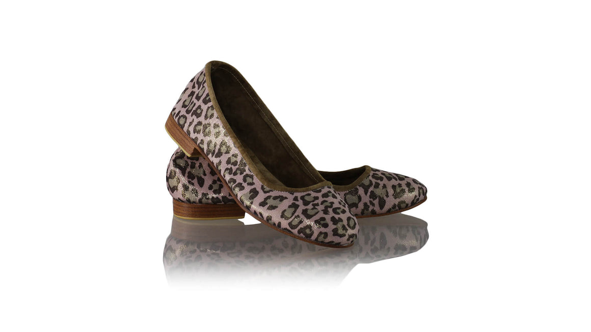 Leather-shoes-Kate Ballet 20mm - Pink Leopard-Shoes-NILUH DJELANTIK-NILUH DJELANTIK