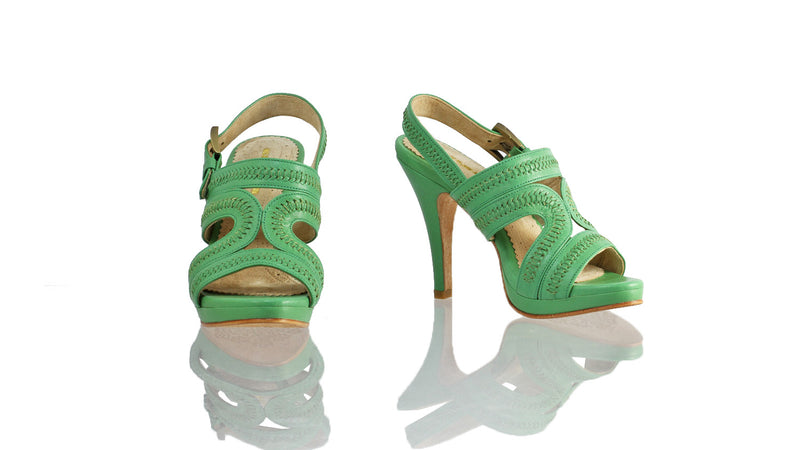 Leather-shoes-Lilies 115mm SH-01 PF - Aqua-sandals higheel-NILUH DJELANTIK-NILUH DJELANTIK