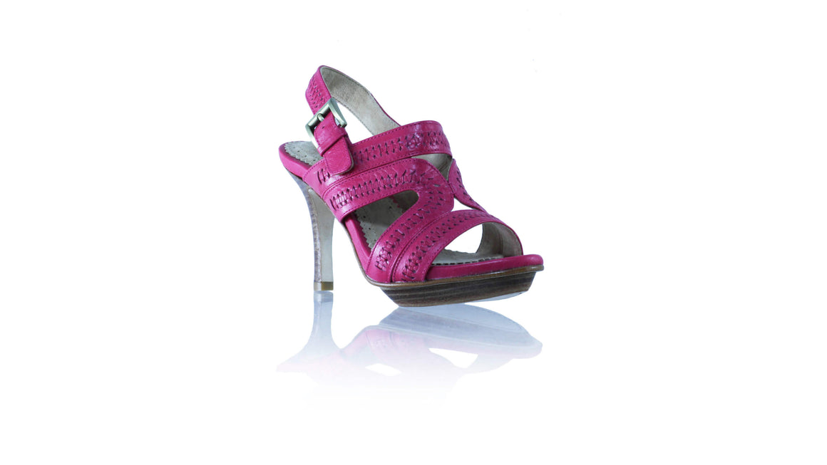 Leather-shoes-Lilies PF with strap 90mm SH - Fuschia-sandals higheel-NILUH DJELANTIK-NILUH DJELANTIK