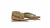 leather shoes Louis 25 mm Flats - Light Olive (MEN), sandals flat , NILUH DJELANTIK - 1