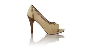 Leather-shoes-Maeva 115mm SH - Nude & Bronze-pumps highheel-NILUH DJELANTIK-NILUH DJELANTIK