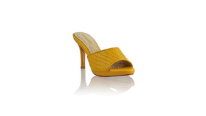 Leather-shoes-Mama 90mm SH-01 PF - Yellow-sandals higheel-NILUH DJELANTIK-NILUH DJELANTIK