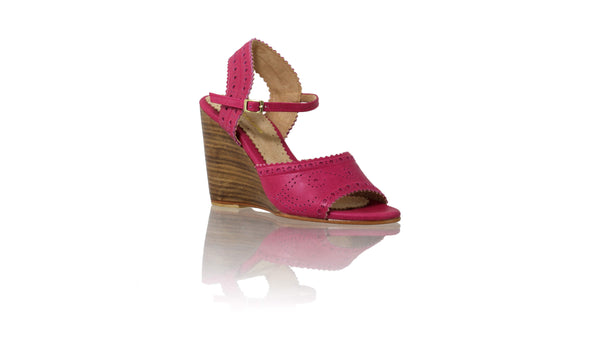 Leather-shoes-Manik 110mm Wedge - Fuschia-sandals wedges-NILUH DJELANTIK-NILUH DJELANTIK