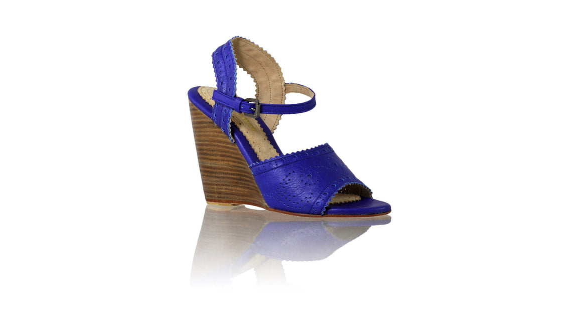 Leather-shoes-Manik 110mm Wedges - Royal Blue-sandals wedges-NILUH DJELANTIK-NILUH DJELANTIK