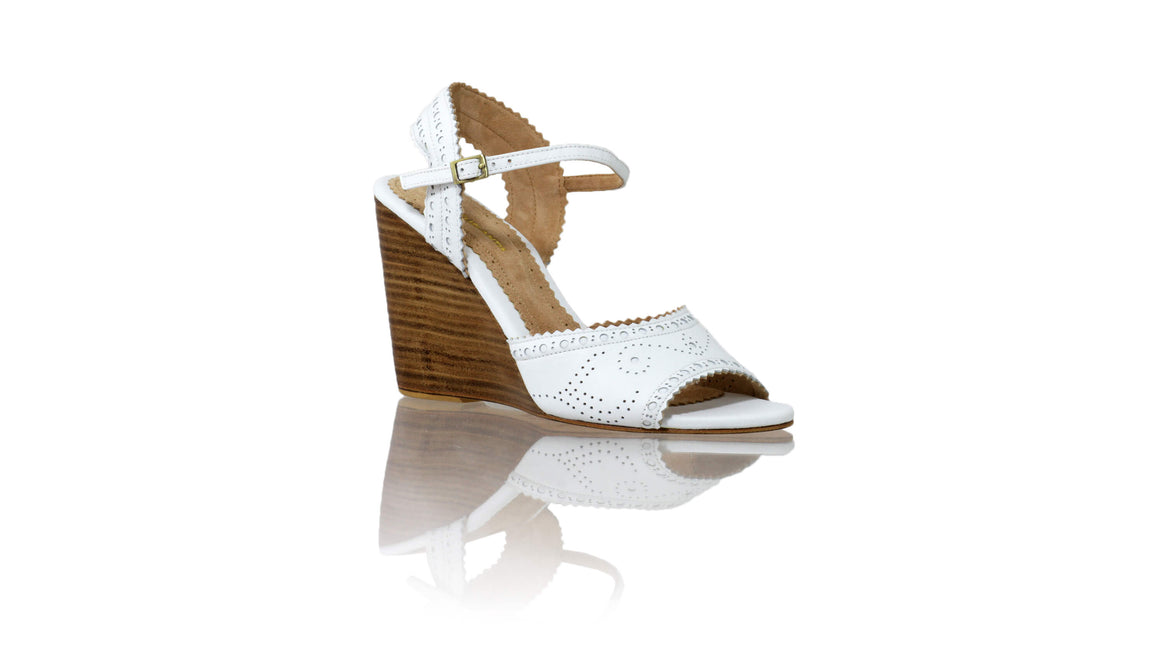 Leather-shoes-Manik 110mm Weges - White-sandals wedges-NILUH DJELANTIK-NILUH DJELANTIK