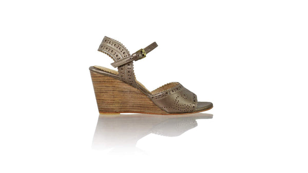 Leather-shoes-Manik 80mm Wedge - Bronze-sandals wedges-NILUH DJELANTIK-NILUH DJELANTIK