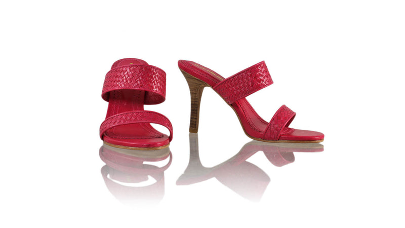 Leather-shoes-Maria 90mm SH - Fuschia-sandals higheel-NILUH DJELANTIK-NILUH DJELANTIK