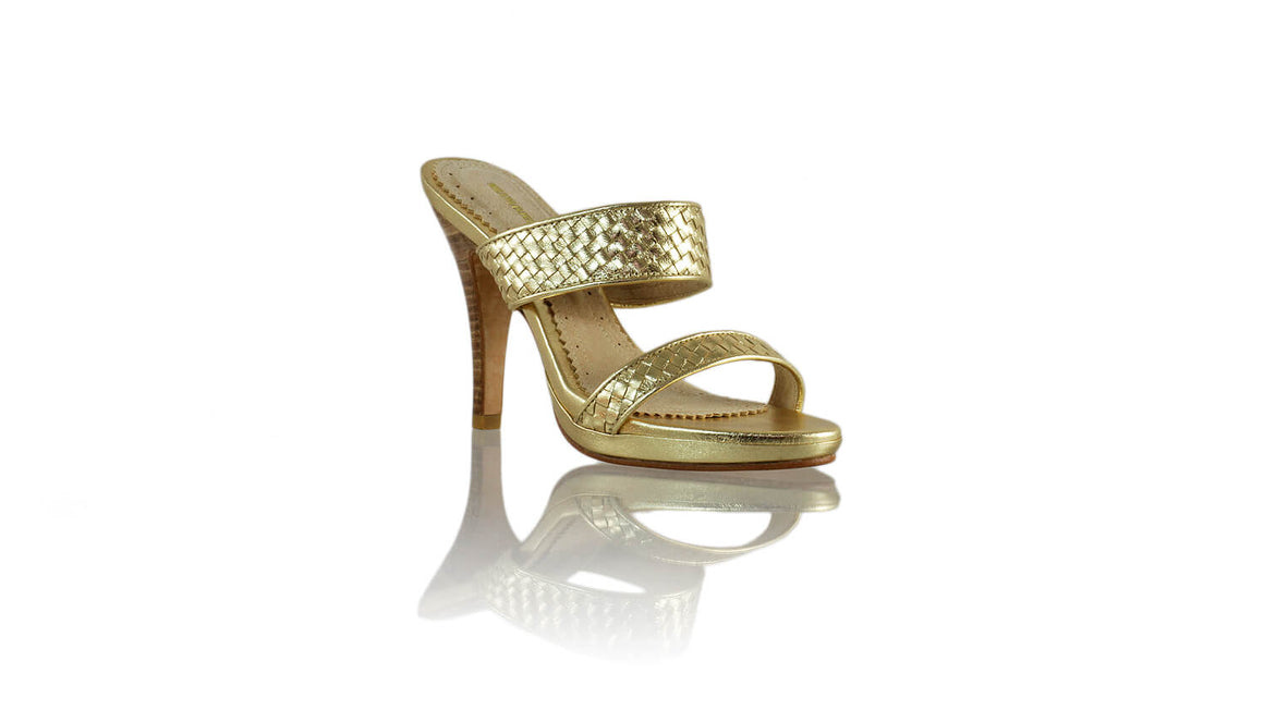 Leather-shoes-Maria PF 115mm SH - Gold-sandals higheel-NILUH DJELANTIK-NILUH DJELANTIK