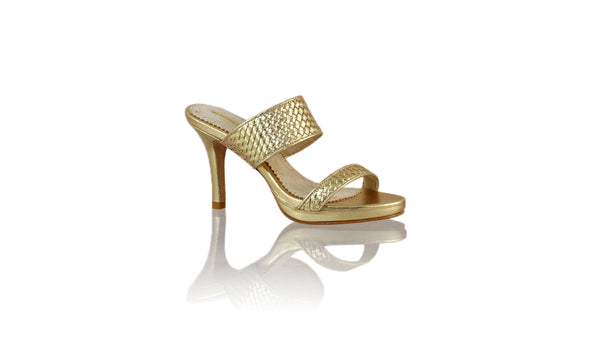 Leather-shoes-Maria 90MM SH-01 PF - Gold-sandals higheel-NILUH DJELANTIK-NILUH DJELANTIK