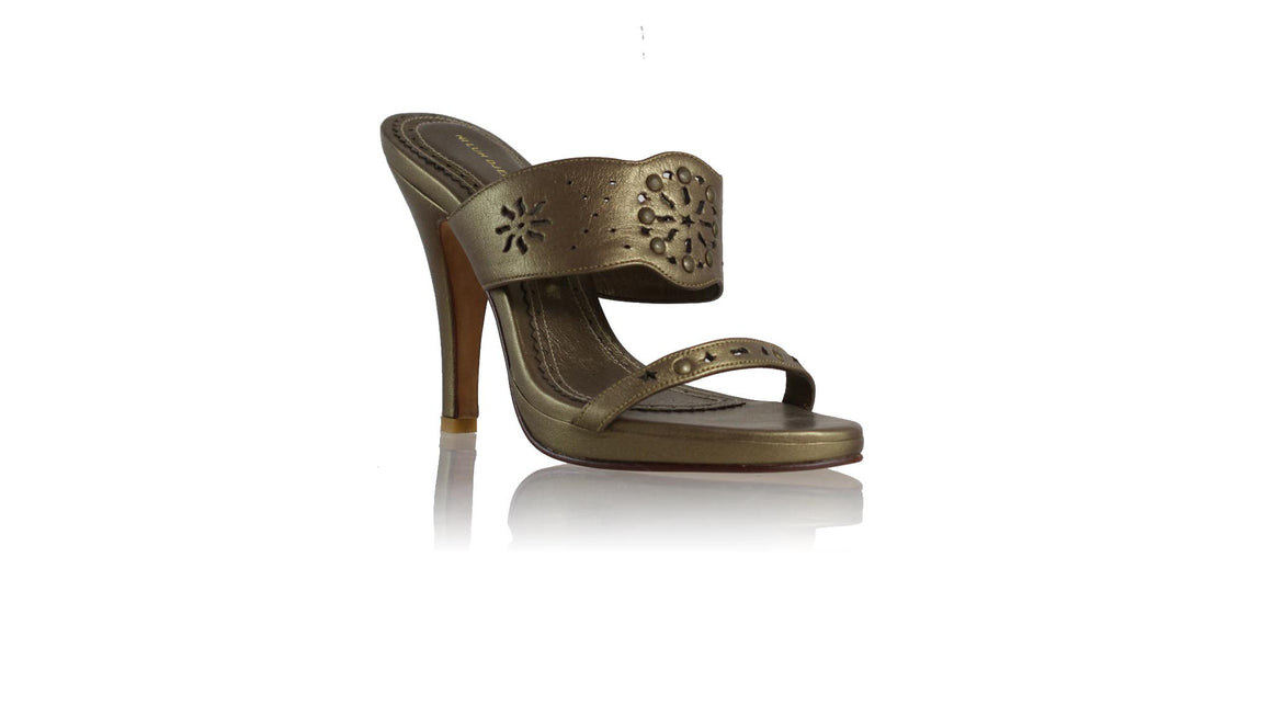Leather-shoes-Marita PF 115mm SH - Bronze-sandals higheel-NILUH DJELANTIK-NILUH DJELANTIK