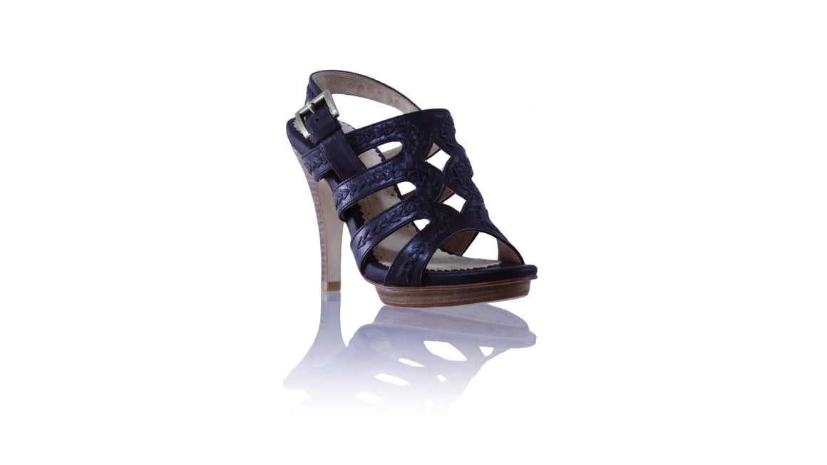 Leather-shoes-Maya PF 115mm SH - Black-sandals higheel-NILUH DJELANTIK-NILUH DJELANTIK
