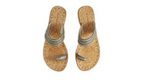 Leather-shoes-Merauke 20mm Flat - Dark Grey & Gold-sandals flat-NILUH DJELANTIK-NILUH DJELANTIK