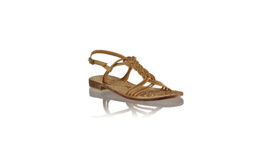 Leather-shoes-Nassera 20mm Flat - Nude-sandals flat-NILUH DJELANTIK-NILUH DJELANTIK