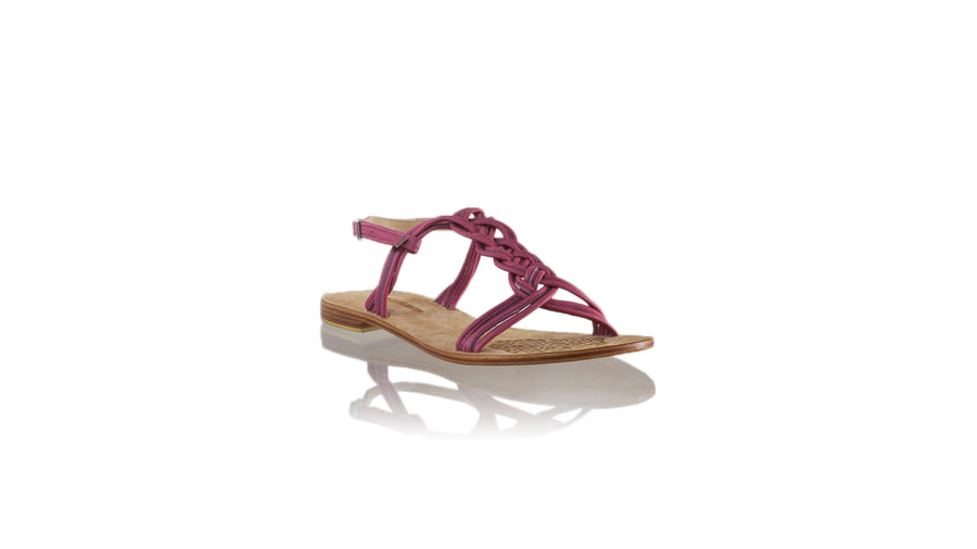 Leather-shoes-Nassera 20mm Flat - Fuschia-sandals flat-NILUH DJELANTIK-NILUH DJELANTIK