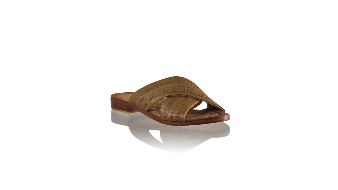 Leather-shoes-Nawi No Strap Flats 20mm - Brown-sandals flat-NILUH DJELANTIK-NILUH DJELANTIK
