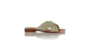 Leather-shoes-Nawi No Strap Flats 20mm - Ivory-sandals flat-NILUH DJELANTIK-NILUH DJELANTIK