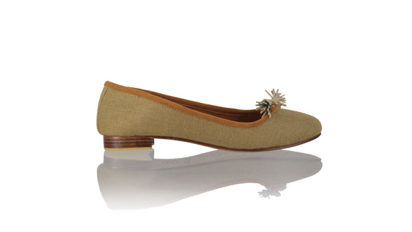 Leather-shoes-Noemi 20mm Ballet - Brown Jute-flats ballet-NILUH DJELANTIK-NILUH DJELANTIK