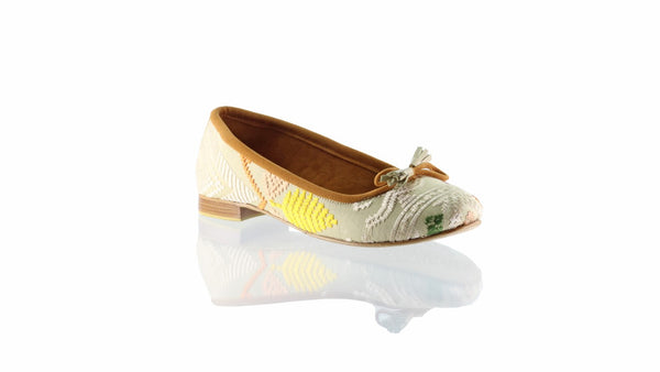 Leather-shoes-Noemi 20mm Ballet - Ivory Songket-flats ballet-NILUH DJELANTIK-NILUH DJELANTIK