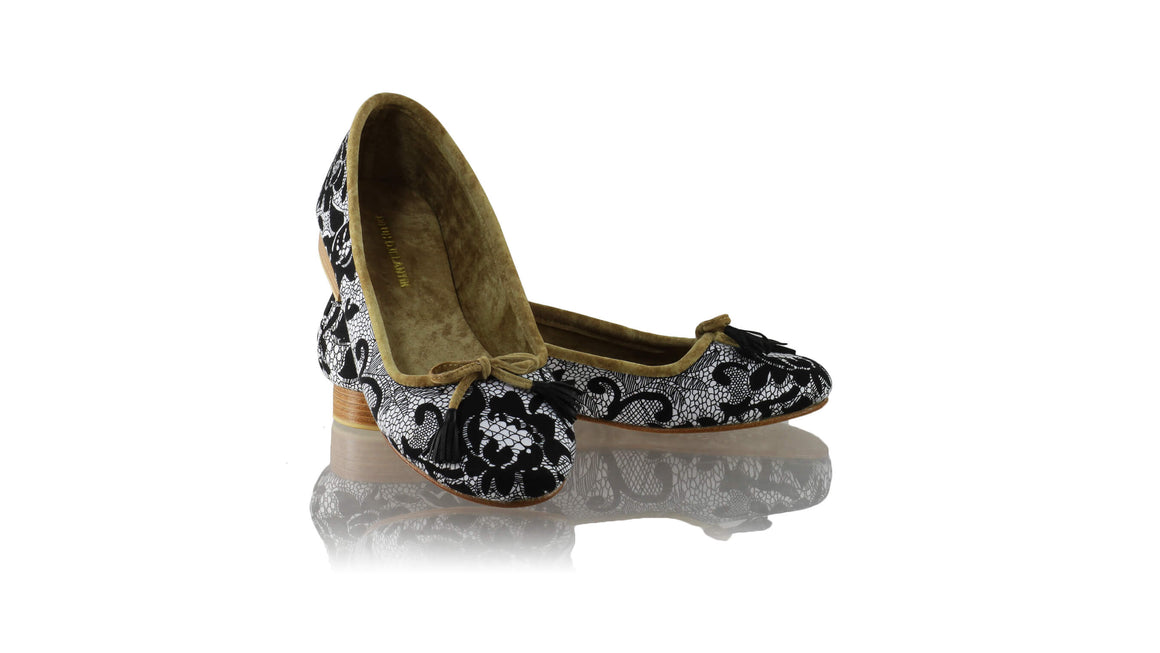 Leather-shoes-Noemi 20mm Ballet - Black Lace-flats ballet-NILUH DJELANTIK-NILUH DJELANTIK