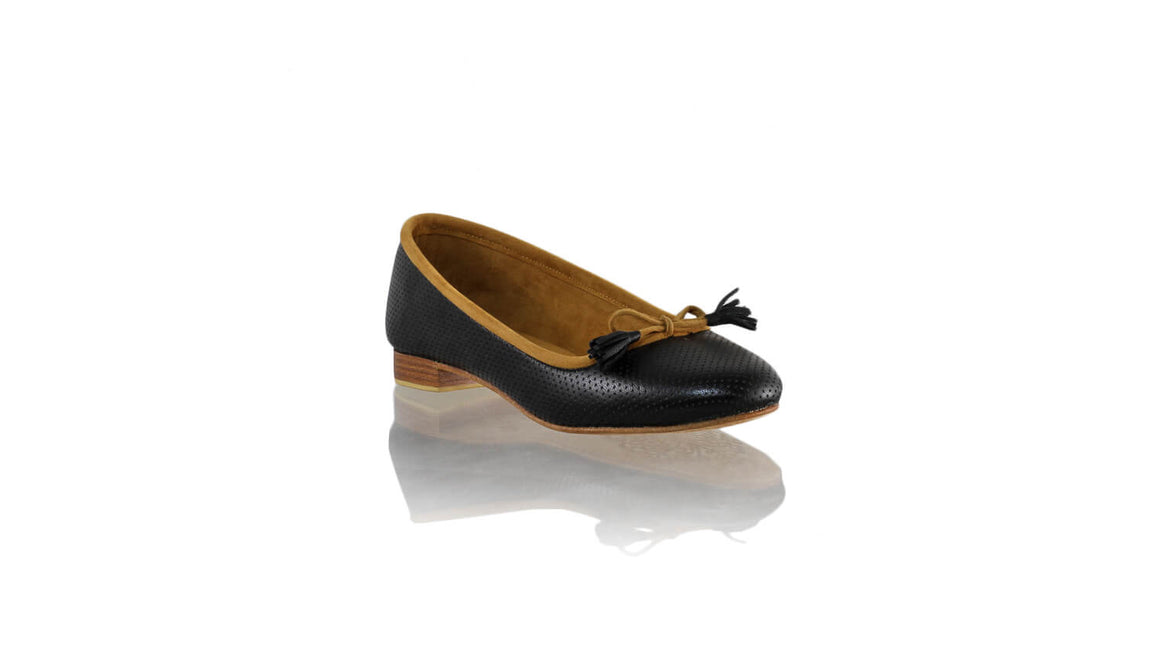 Leather-shoes-Noemi 20mm Ballet - Black Net-flats ballet-NILUH DJELANTIK-NILUH DJELANTIK