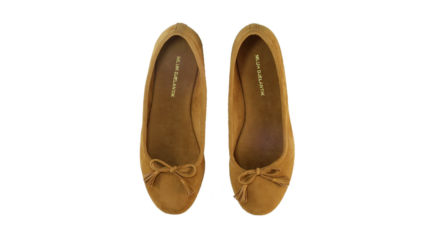Leather-shoes-Noemi 20mm Ballet - Brown Microsuede-flats ballet-NILUH DJELANTIK-NILUH DJELANTIK