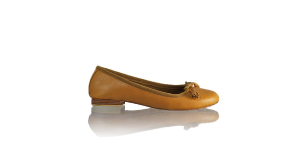 Leather-shoes-Noemi 20mm Ballet - Camel-flats ballet-NILUH DJELANTIK-NILUH DJELANTIK
