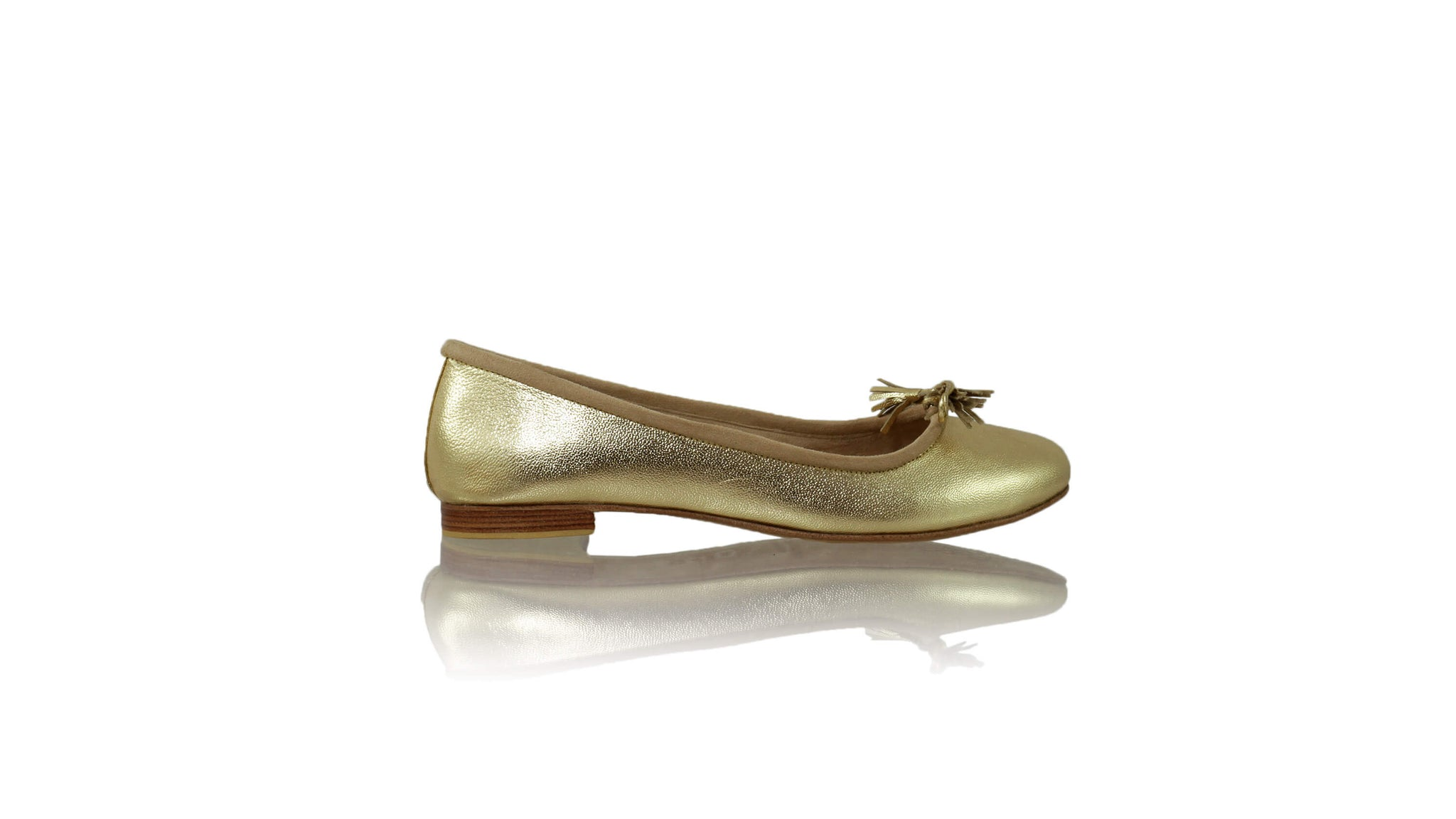 Leather-shoes-Noemi 20mm Ballet - Gold New-flats ballet-NILUH DJELANTIK-NILUH DJELANTIK