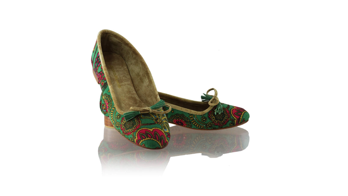 Leather-shoes-Noemi 20mm Ballet - Green Lotus-flats ballet-NILUH DJELANTIK-NILUH DJELANTIK