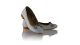 Leather-shoes-Noemi 20mm Ballet - Grey Net-flats ballet-NILUH DJELANTIK-NILUH DJELANTIK