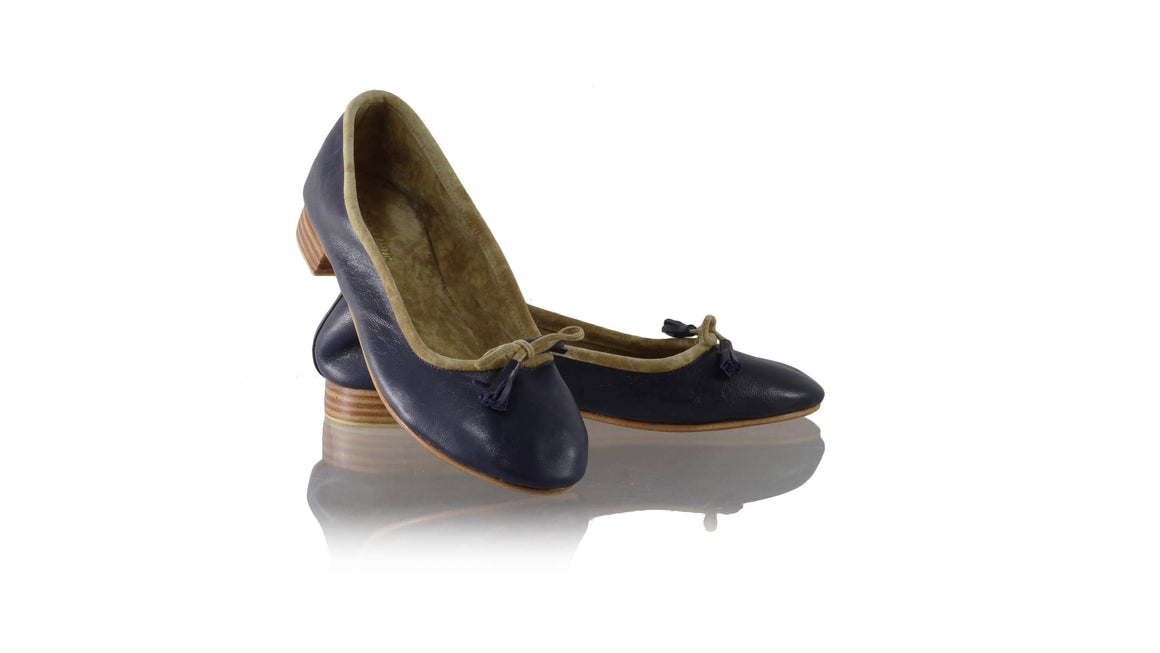 Leather-shoes-Noemi 20mm Ballet - Navy Blue-flats ballet-NILUH DJELANTIK-NILUH DJELANTIK