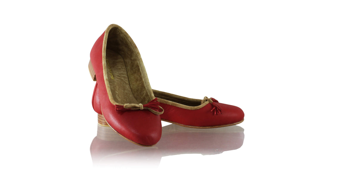 Leather-shoes-Noemi 20mm Ballet - Red-flats ballet-NILUH DJELANTIK-NILUH DJELANTIK